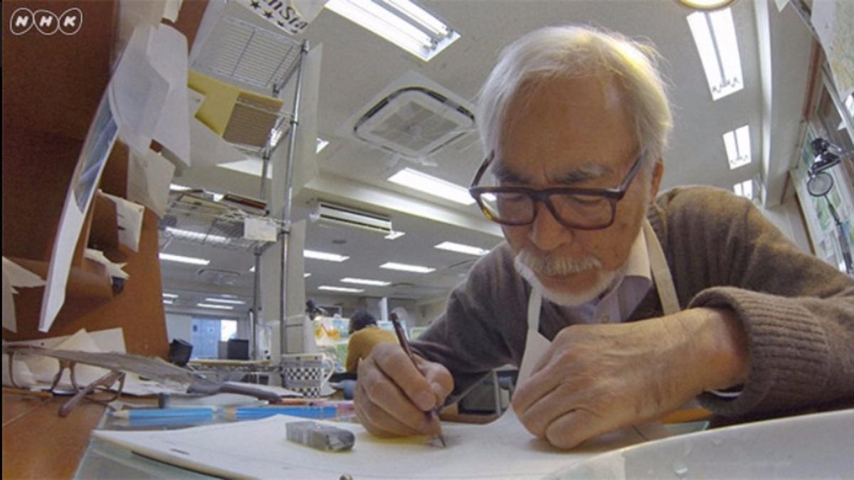 Miyazaki ya ha hecho la mitad de la nueva película de Ghibli