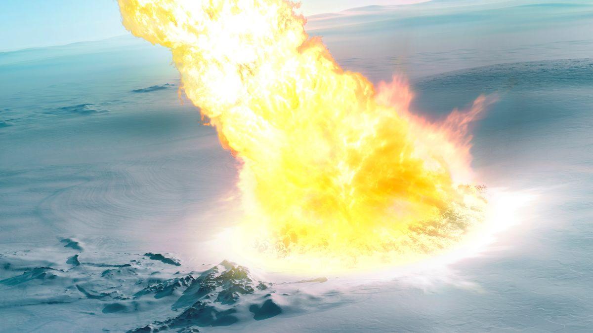 Explosión de meteorito devastó la Antártida hace 430.000 años