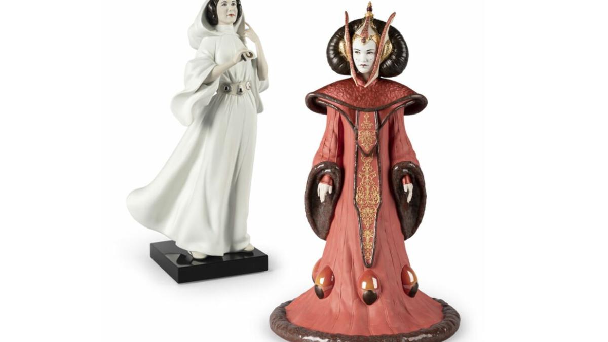Venden porcelanas Lladró de Star Wars por cientos y miles euros