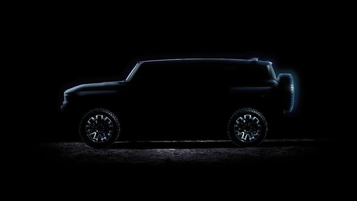 El nuevo Hummer completamente eléctrico llegará en abril