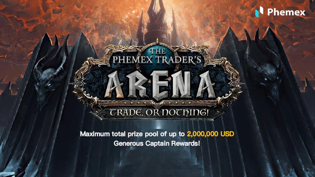La plataforma de comercio de criptomonedas más rápida anuncia el concurso Arena de Phemex Trader con un pozo de premios de $ 2 millones