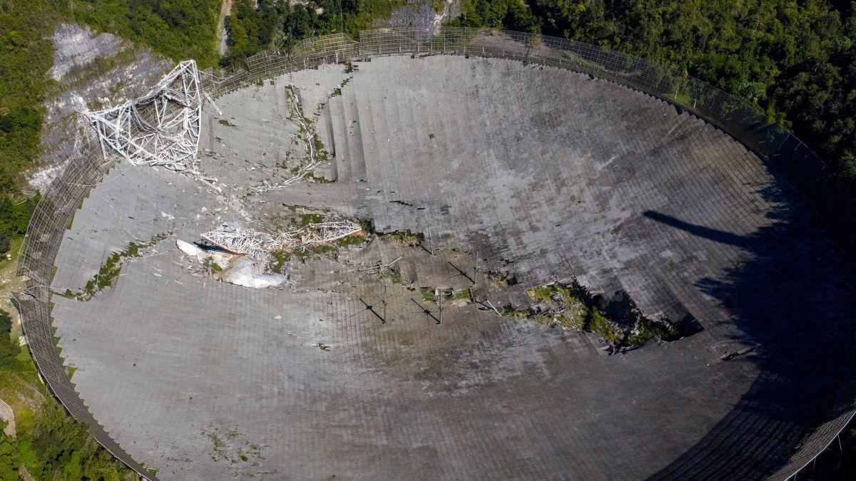 Limpiar desastre del Observatorio de Arecibo cuesta $50 millones