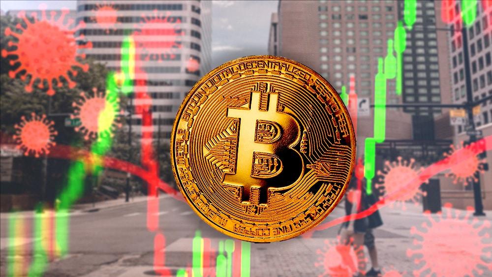 A un año de la debacle del coronavirus, la caída de bitcoin es imperceptible