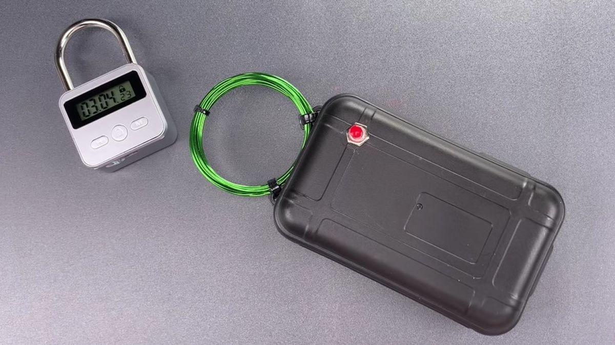 Candado electrónico Vs Generador de pulsos EMP