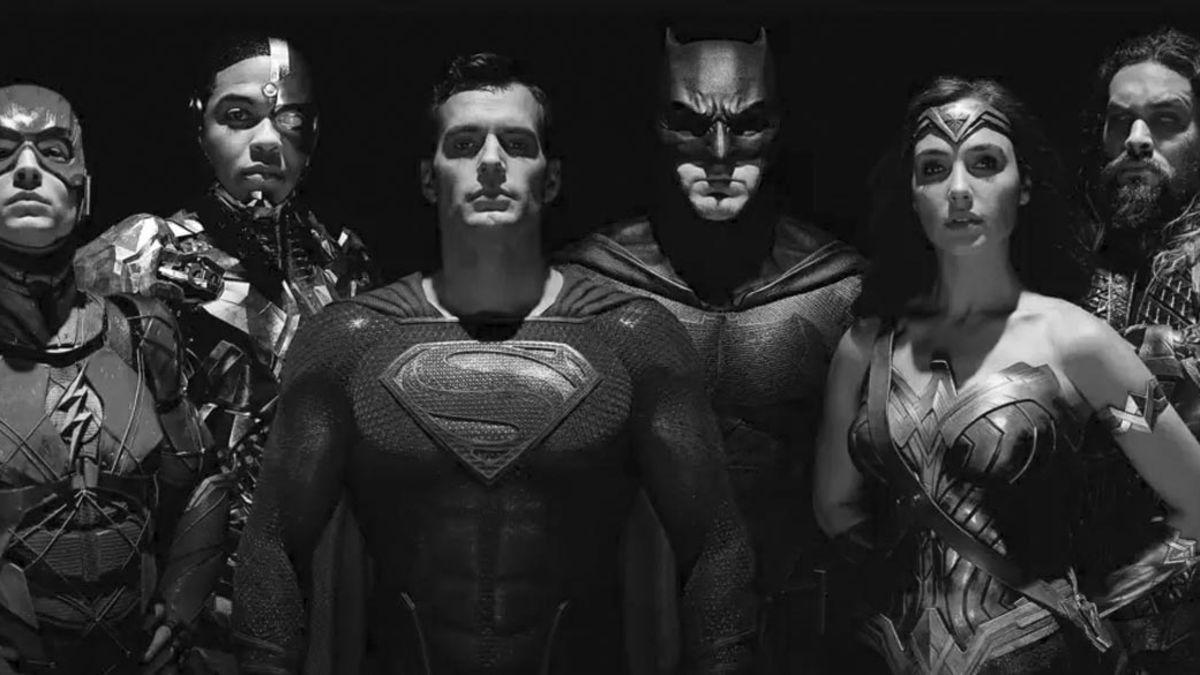 Llega versión del Snyder Cut de Justice League en blanco y negro