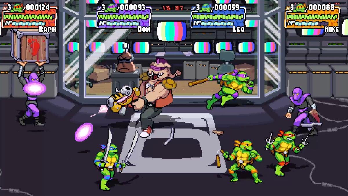 Nuevo juego de las Tortugas Ninja: una genialidad retro