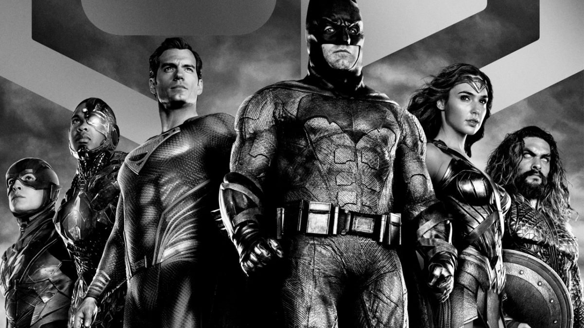 Ya puedes ver el Snyder Cut de Justice League en blanco y negro