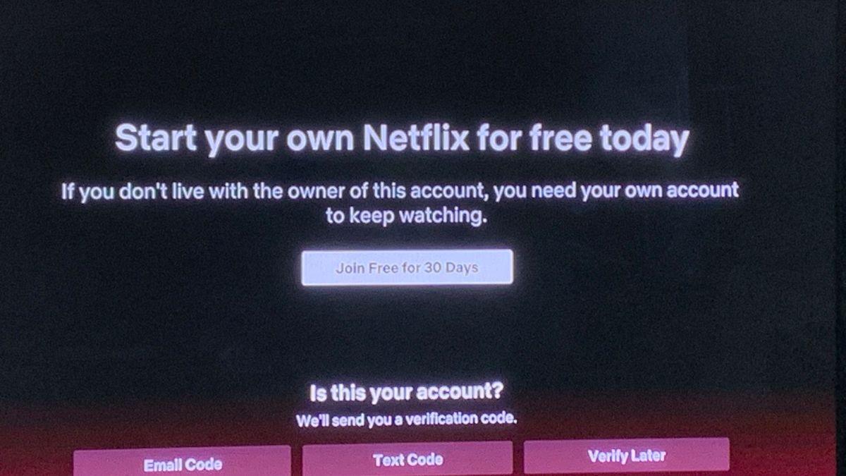 Netflix empieza a perseguir a los que comparten cuenta