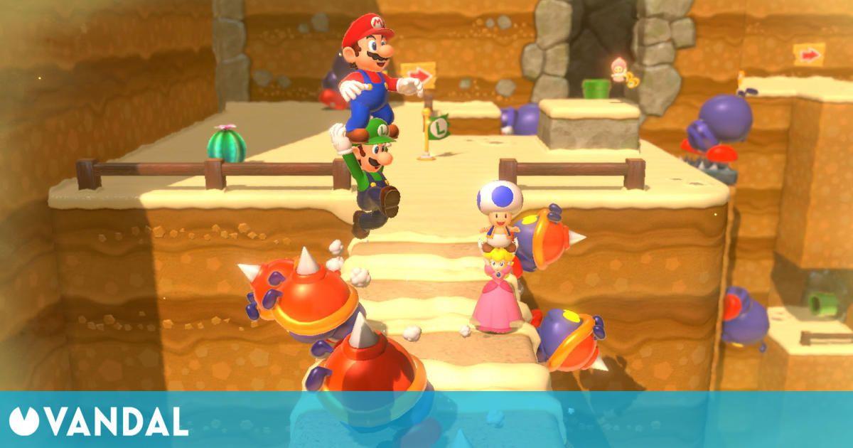 Super Mario 3D World lideras las ventas en España por quinta semana consecutiva