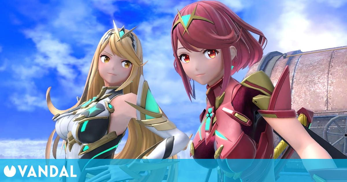 Pyra y Mythra llegan mañana a Super Smash Bros. Ultimate