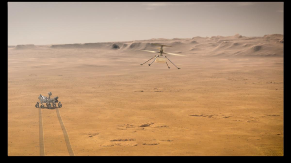 La NASA explica cómo será el primer viaje en helicóptero sobre Marte