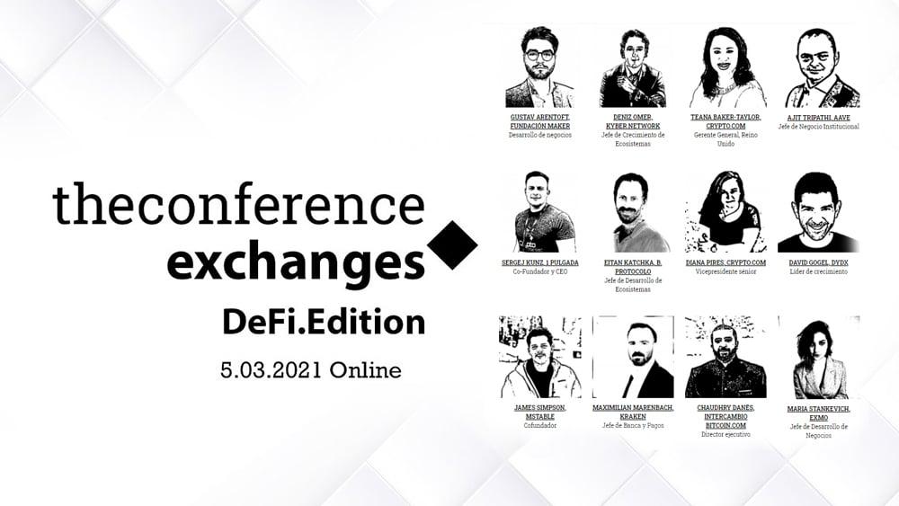 La más reciente edición de The Conference.Exchanges se realizará en su versión online