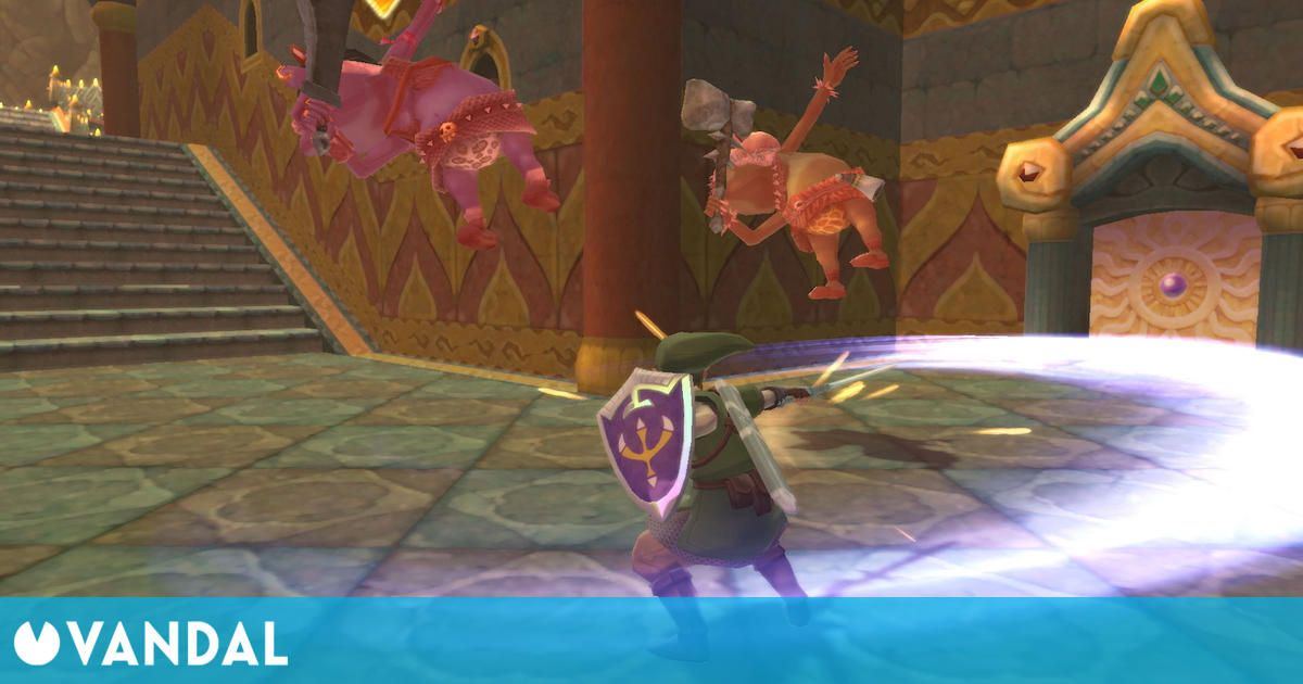 Zelda: Skyward Sword HD tendrá mejores controles de movimiento que en Wii