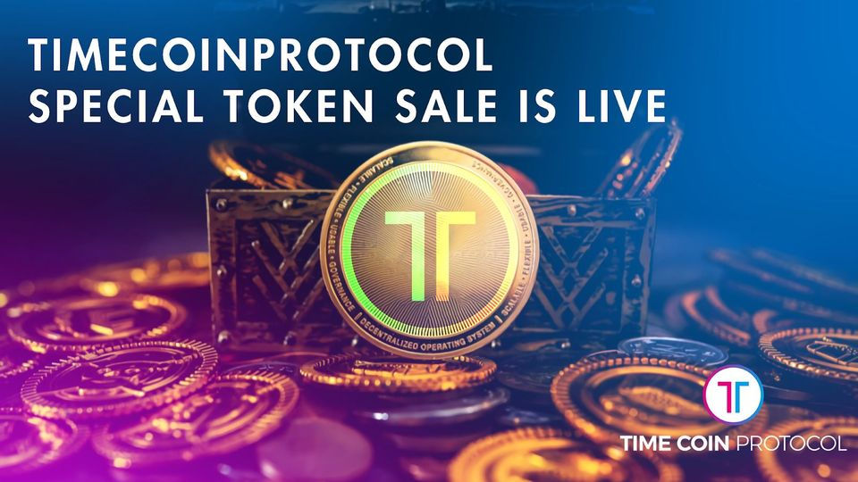 Venta de tokens especiales de TimeCoin