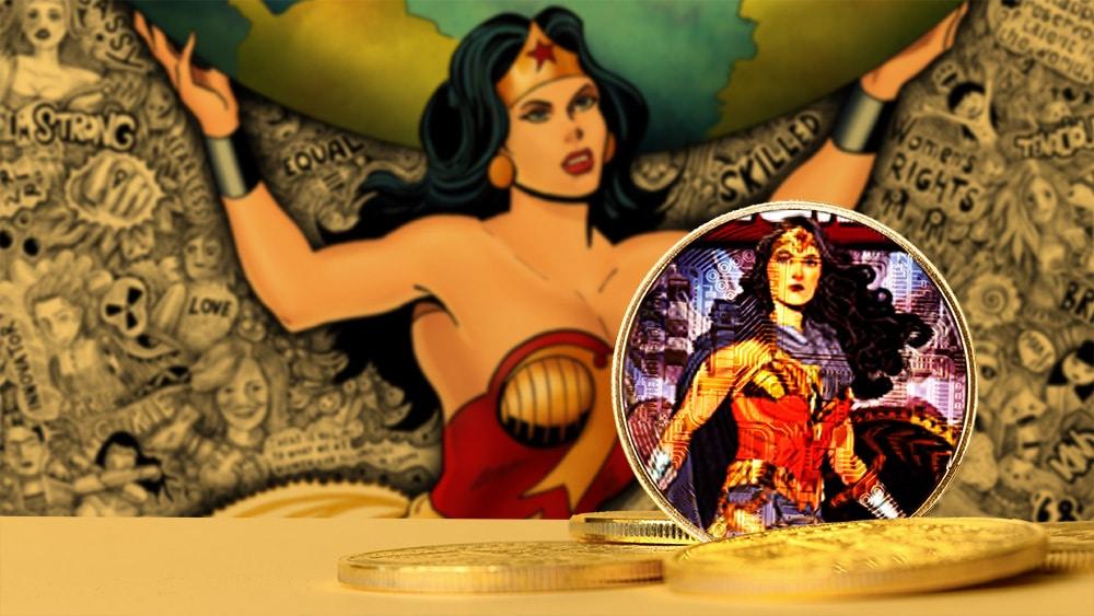 Colección de NFT de la Mujer Maravilla vendida por 2 millones de dólares