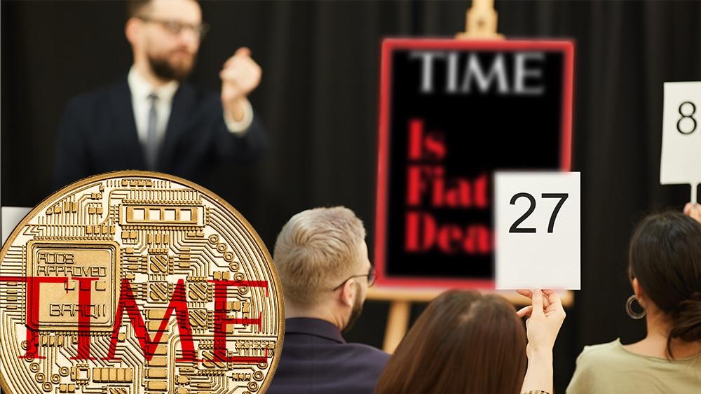 TIME subasta NFT de portadas de su revista: «¿ha muerto el fiat?»