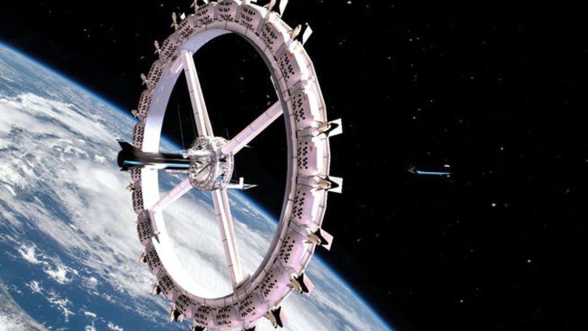 Planean inaugurar el primer hotel en el espacio en 2027