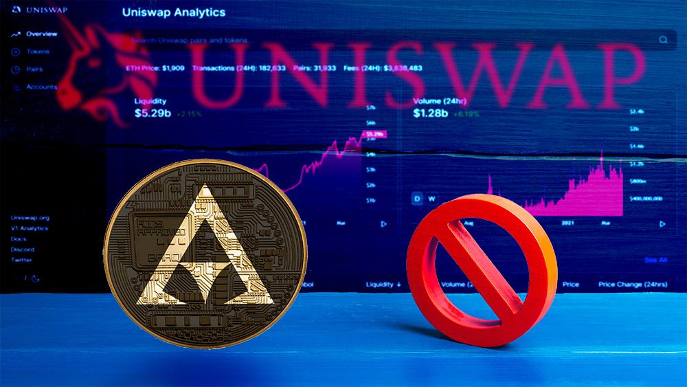 Un token «rompió» las estadísticas de Uniswap y el exchange lo puso en su lista negra