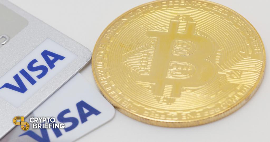 Visa planea habilitar transacciones con criptomonedas