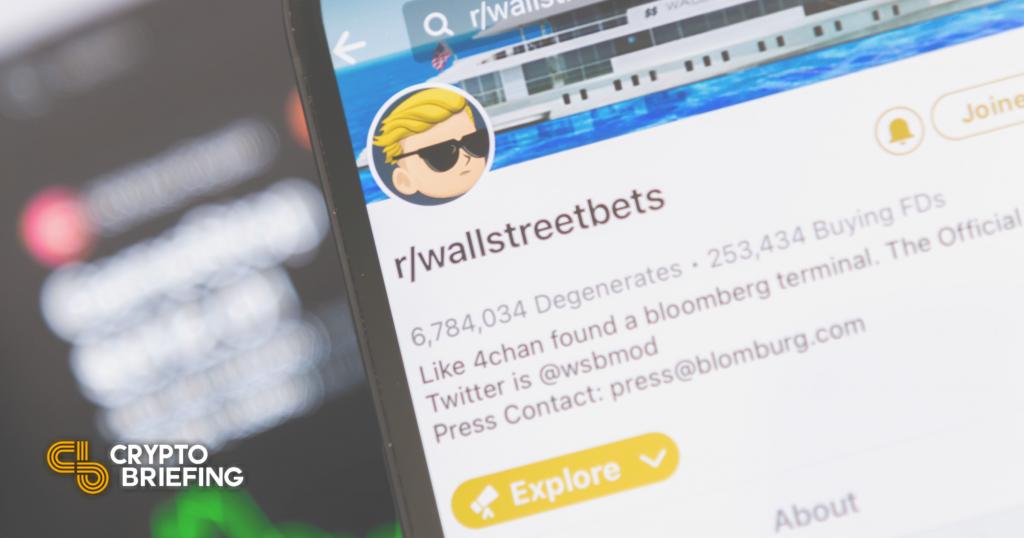 WallStreetBets 2.0 lanza el fondo de inversión en cadena