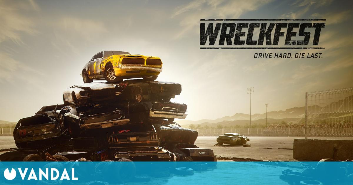 Wreckfest ya funciona a 4K y 60 fps en Xbox Series X