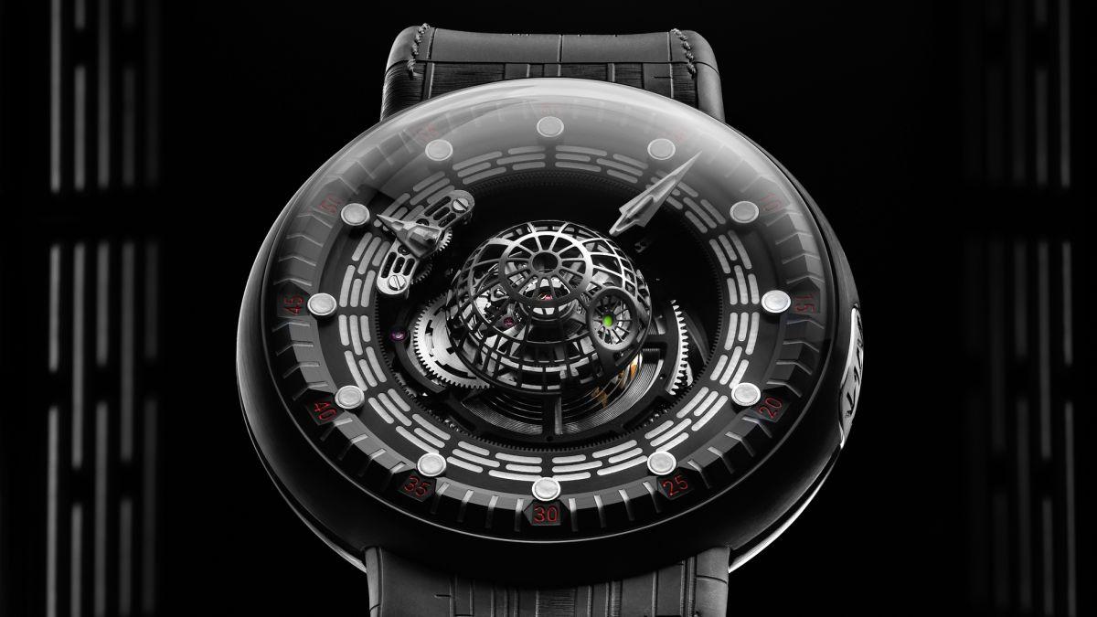 Este impresionante reloj inspirado en la Estrella de la Muerte puede ser tuyo por un precio absurdo