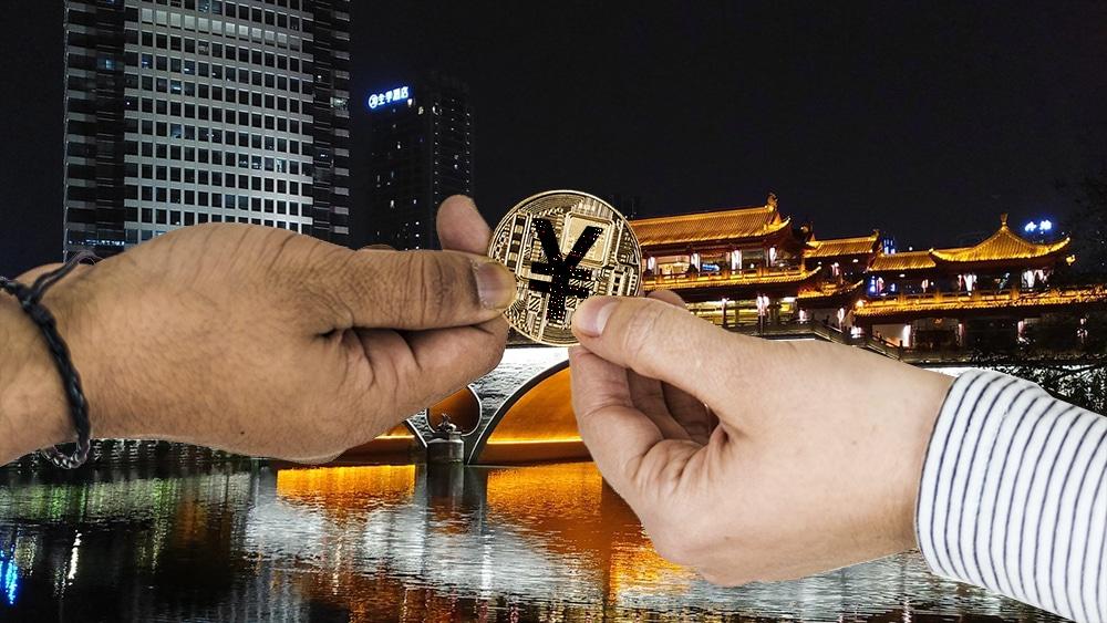 China inicia nuevo ensayo del yuan digital en la ciudad de Chengdú