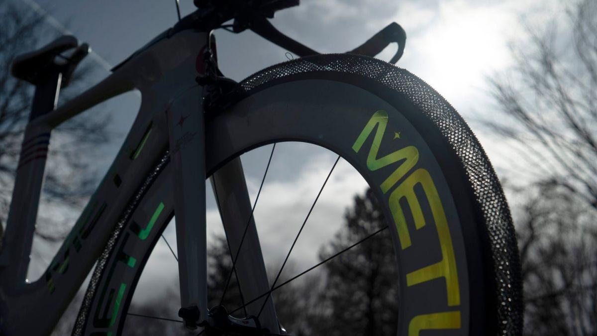 Estas ruedas para bici no se desinflan, y duran toda la vida