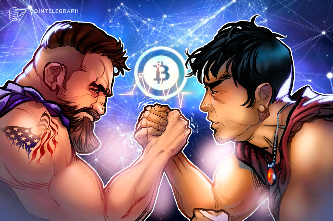 «China utiliza a Bitcoin como un arma financiera contra Estados Unidos»
