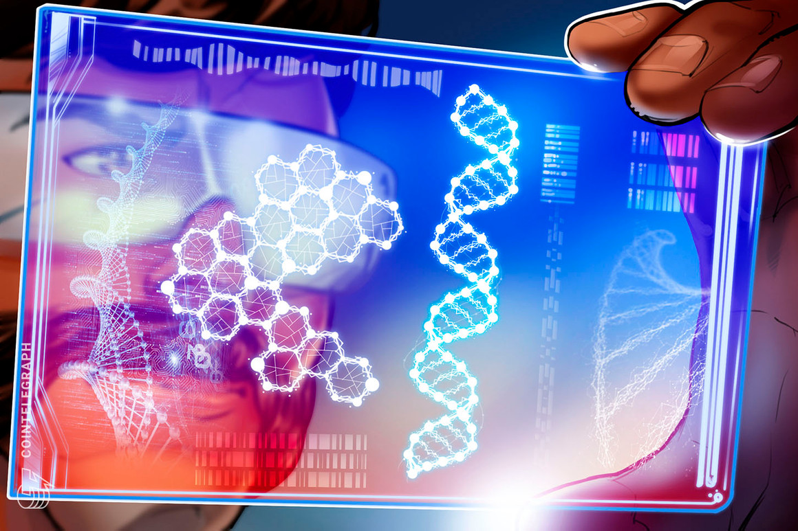 Un usuario está vendiendo tres NFT de su secuencia de ADN