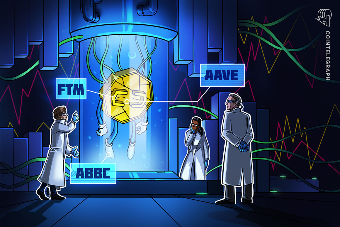 ABBC Coin, AAVE y Fantom (FTM) suben tras anunciar nuevas asociaciones