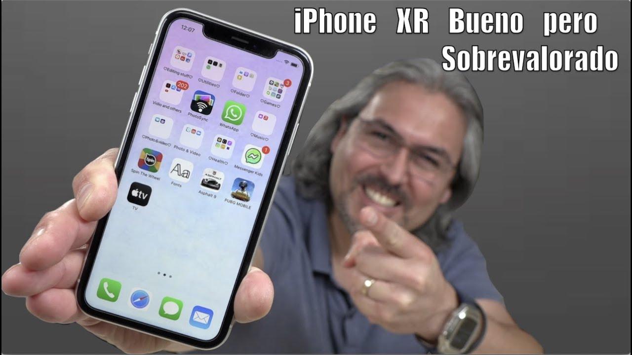 iPhone XR increíble pero SOBREVALORADO
