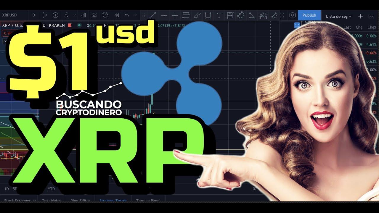 """🤯 XRP en 1 USD.. """"WOW""""  ¿¿SEGUIRA SUBIENDO?? + 27 Monedas y Rifa !!!"""