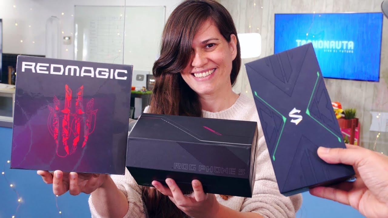 EL UNBOXING MÁS BESTIA!!!!!!! Locura de Teléfonos Gaming…