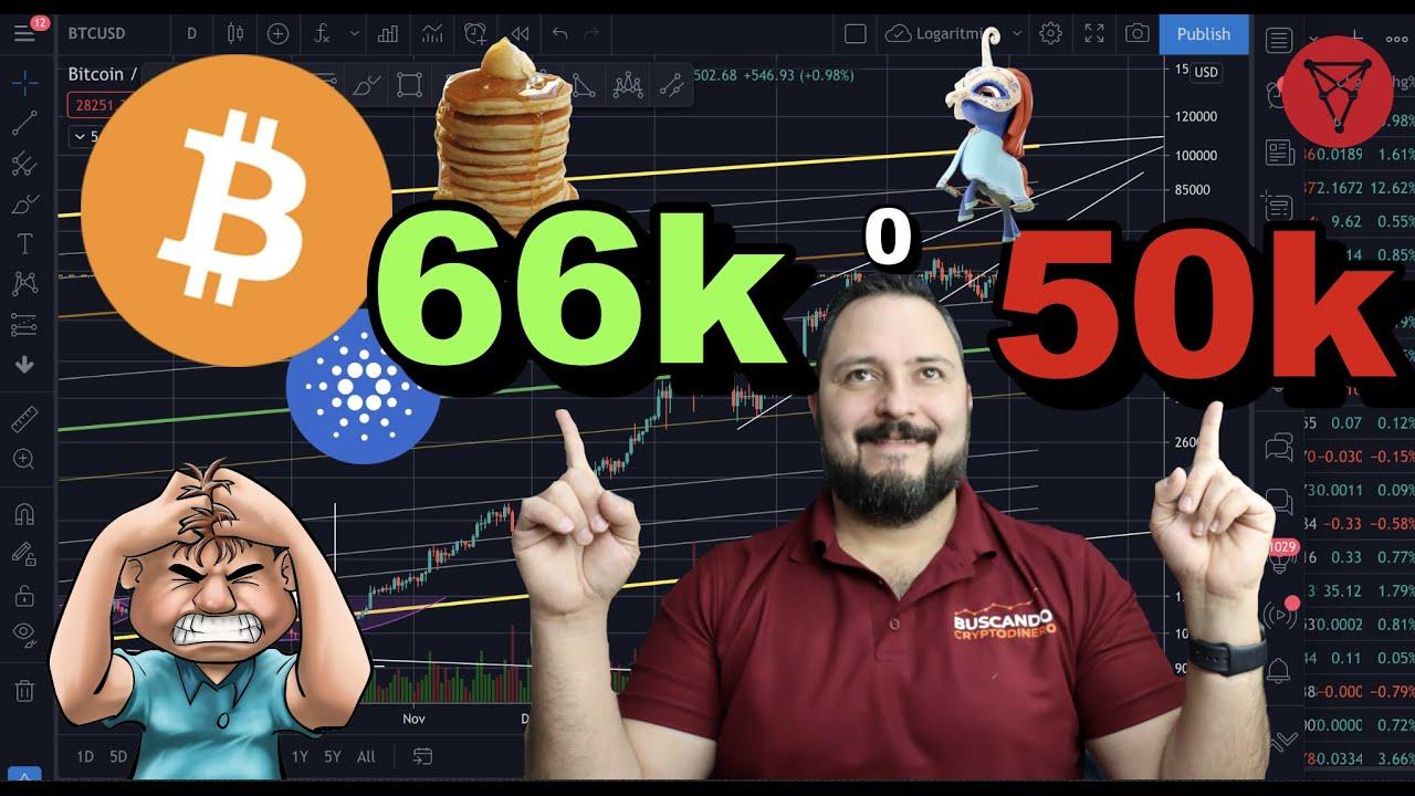 🚦Bitcoin 50k o 66k primero?? + 20 Altcoins y ✅ Rifa !!!