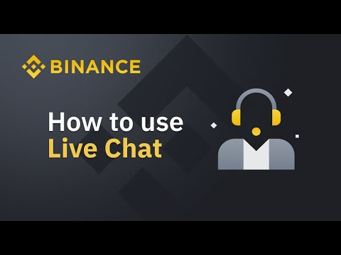 How to use Binance Live Chat