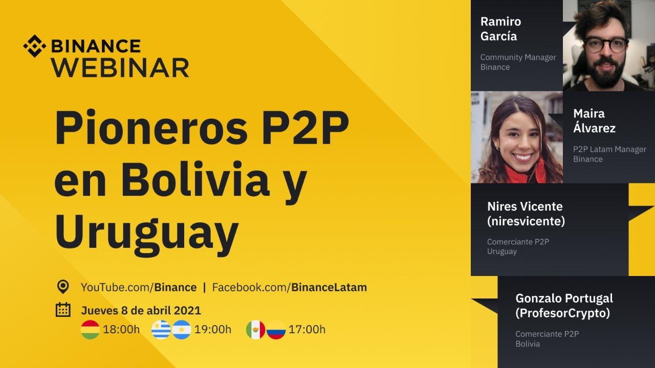 Binance P2P | Pioneros P2P en Bolivia y Uruguay