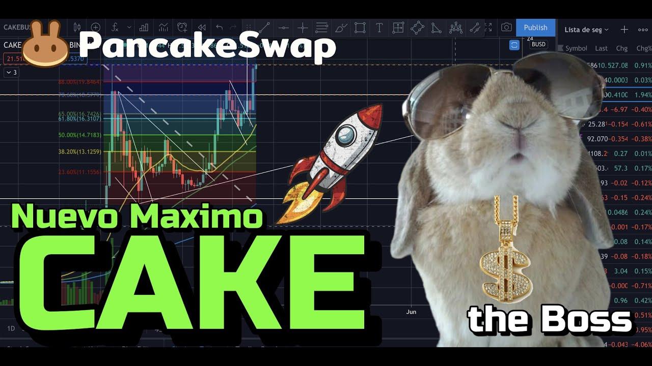 🟢🚀 CAKE nuevo MAXIMO + 24 monedas y 2 Rifas !!!