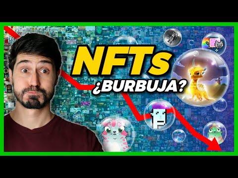 👉 ¿Puedes HACERTE MILLONARIO con los NFTs o son una BURBUJA? 🔮 El Futuro de los Tokens no Fungibles!
