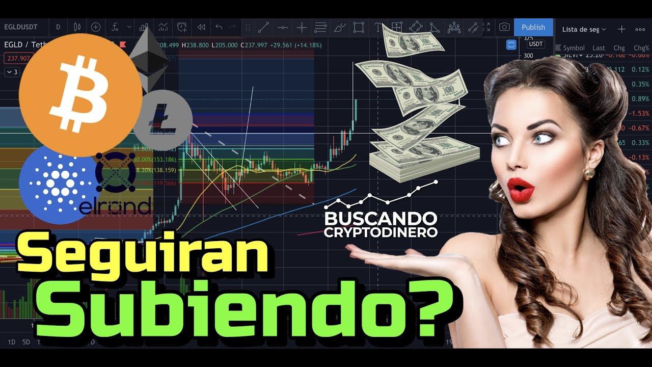 👁 Bitcoin, XRP, LTC, eGLD seguirá subiendo🤑?? ADA Despertara?? + Rifa y 20 Monedas !!!