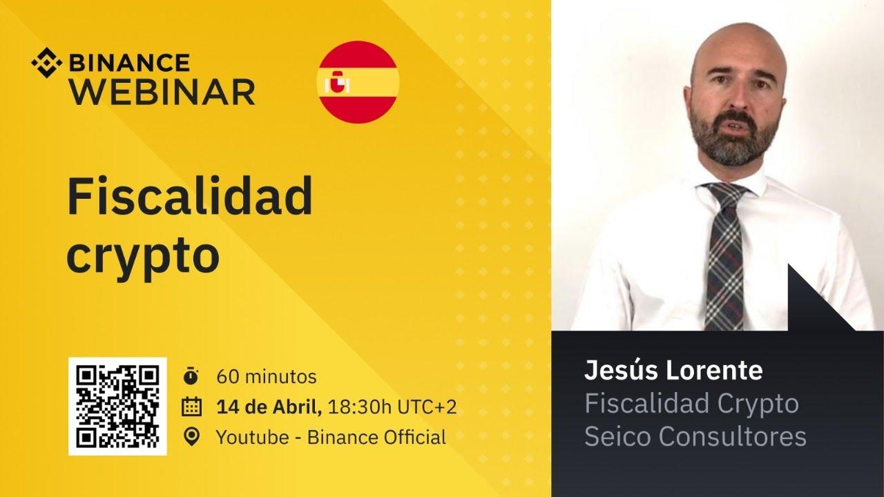 Webinar Fiscalidad crypto – Español