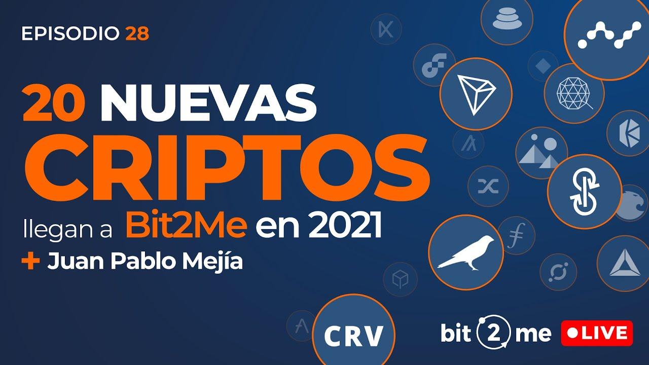 🔴 ANALIZAMOS nuestras 20 Nuevas CRIPTOMONEDAS en 2021 – ESPECIAL Bit2Me Live @Juanencripto