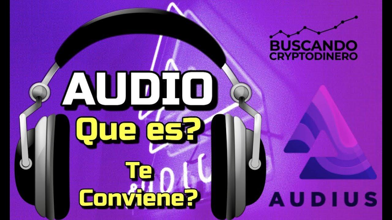 """Audius """"AUDIO"""" Que es?? #musica #nft 🔥 ☞Predicción de PRECIOS 🤑 2021 2026 ☜    Me CONVIENE invertir"""