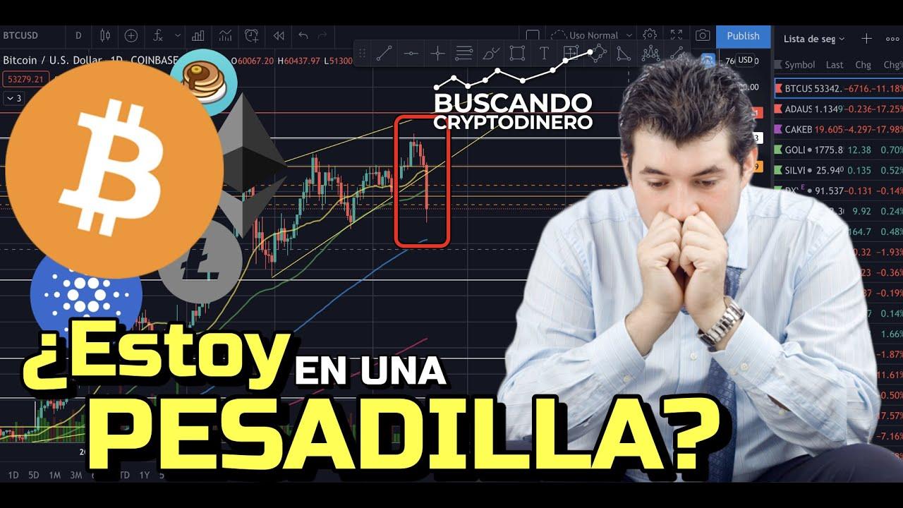 """🔴 BITCOIN   ¿Es esto una """"PESADILLA""""? + 13 monedas y Rifa !!!  ¿Seguirá bajando Bitcoin?"""