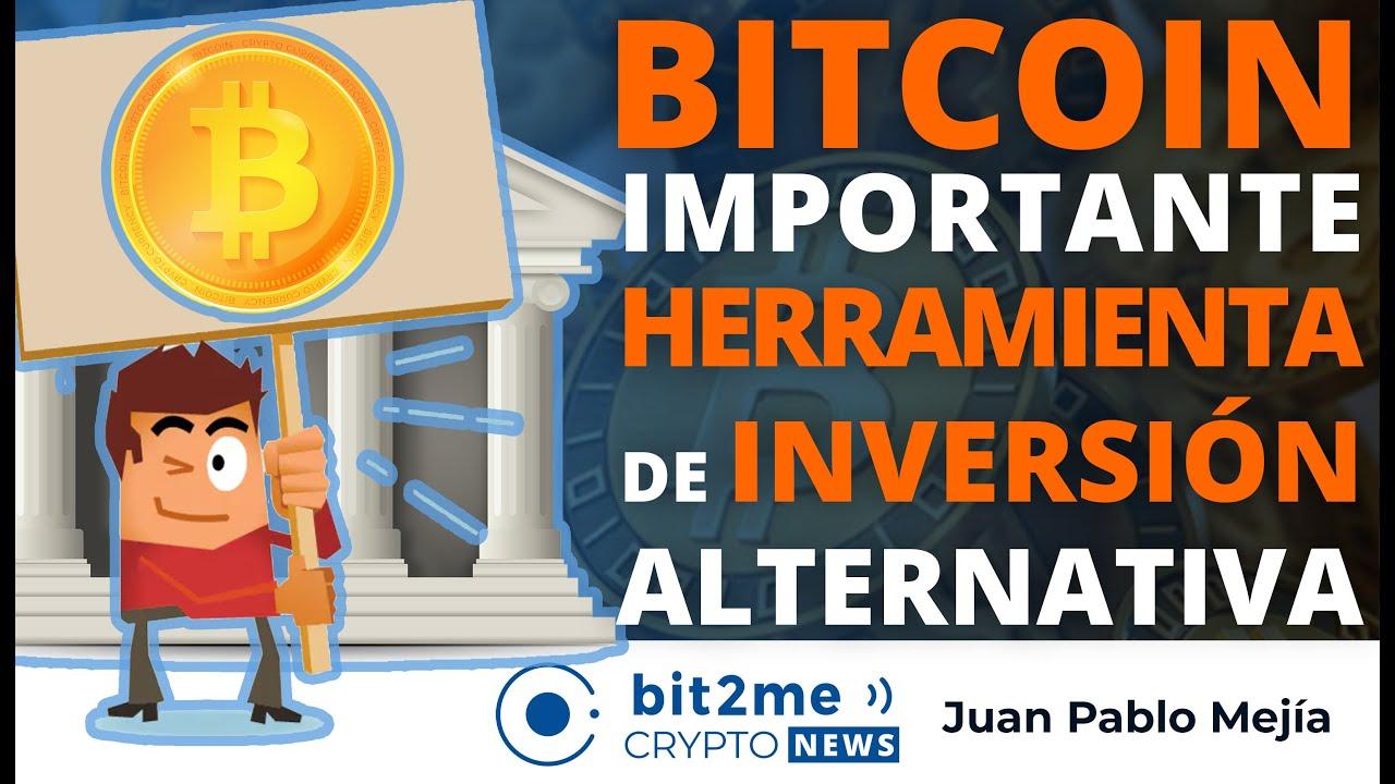 """🔵 📢 """"BITCOIN es una Importante HERRAMIENTA de INVERSIÓN Alternativa"""" – Bit2Me Crypto News"""