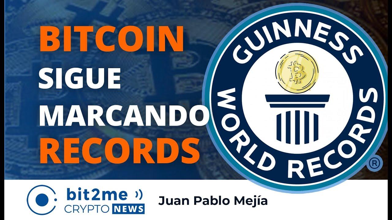 🔵🥇 BITCOIN sigue Marcando RECORDS – Bit2Me Crypto News