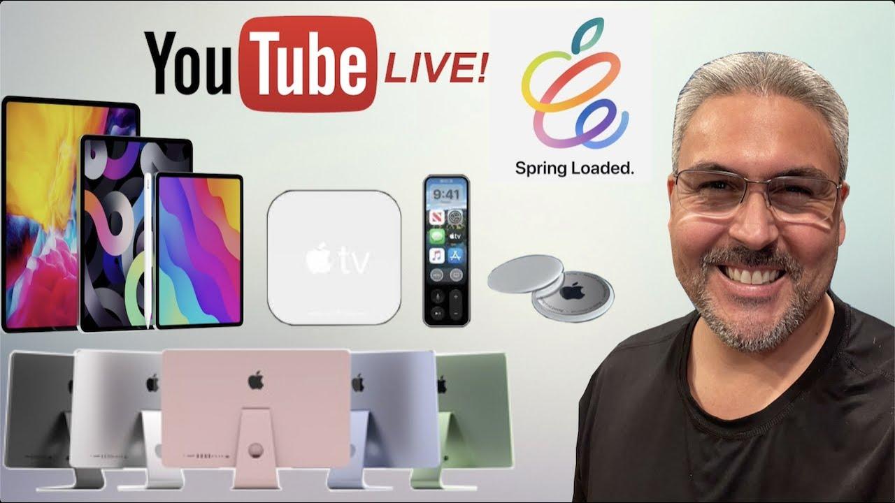 En VIVO evento Apple 20 de abril con Jose Tecnofanatico