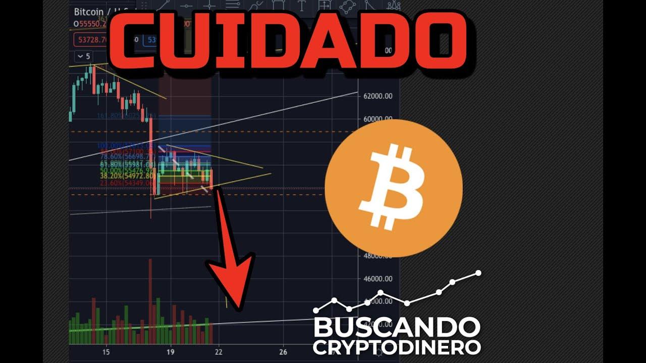 URGENTE…  posible bajada de Bitcoin y Mercado a punto de suceder !!!