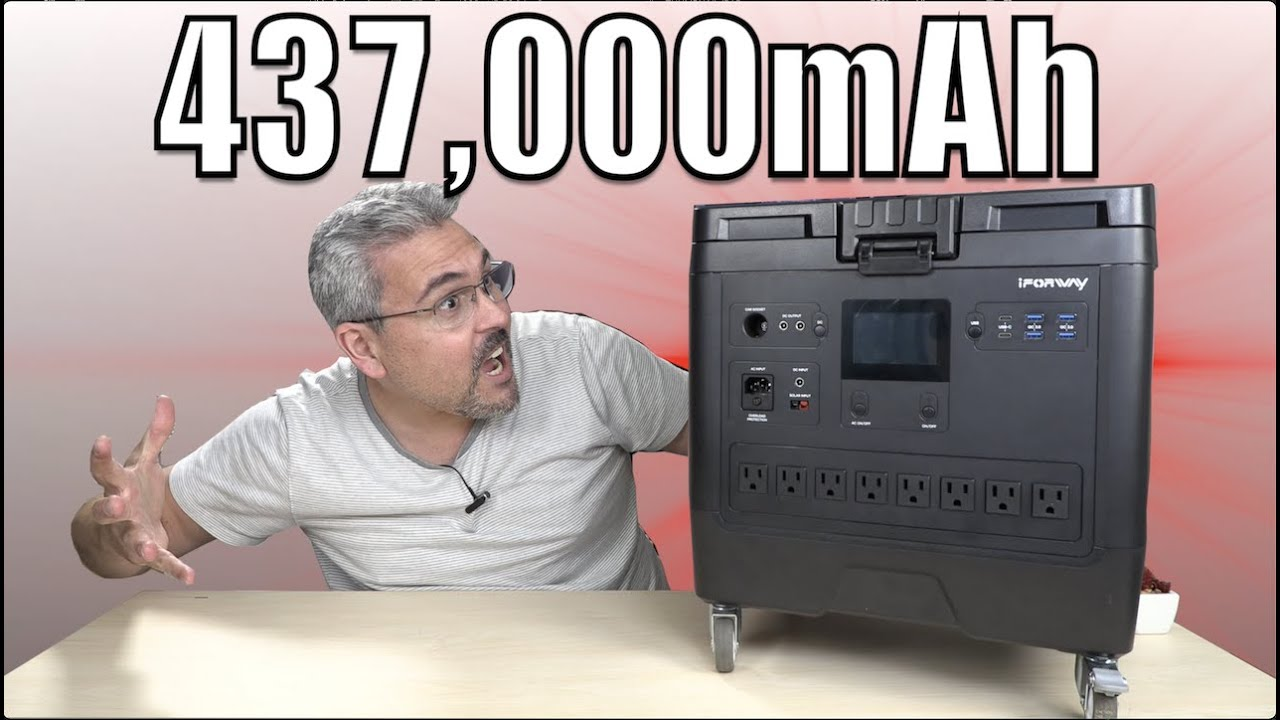 437,000mAh un monstruo de BATERIA – iForway T-REX
