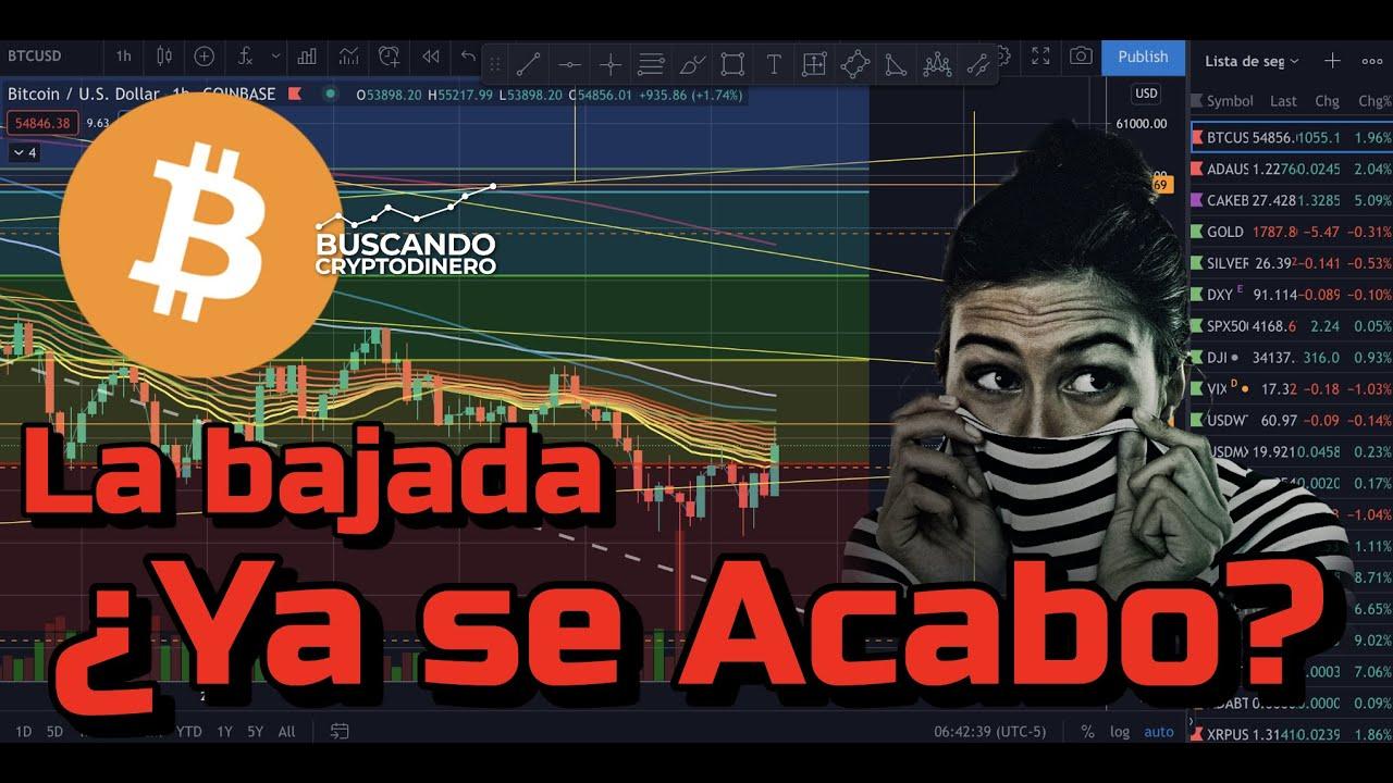 🤯 ¿Se acabo la BAJADA de Bitcoin? + 4 monedas y rifa de Litecoin !!!